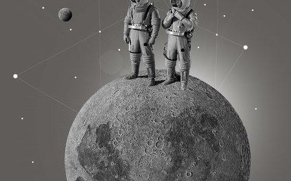 Art Print - Space Race - TRASH RIOT