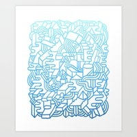 Wave Machine Art Print