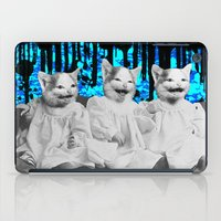 Triple Trouble iPad Case