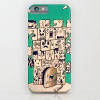 iPhone & iPod Case featuring man castle by Kerim Cem Oktay