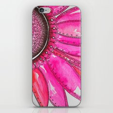 Gerber Daisy Watercolor Print iPhone & iPod Skin