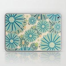 Retro Crazy Flowers Laptop & iPad Skin