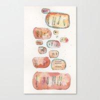 division : 01 Canvas Print
