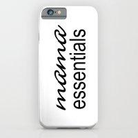 Mama Essentials Black & White iPhone 6 Slim Case