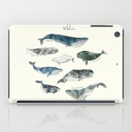 iPad Case featuring Whales by Amy Hamilton