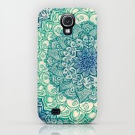 iPhone & iPod Case featuring Emerald Doodle by Micklyn