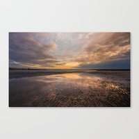 Sand Ripples  Canvas Print