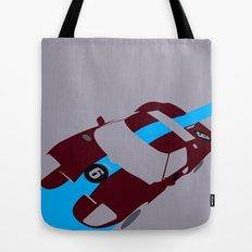 Orange Notch - Ford GT40 Race Car Tote Bag
