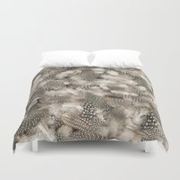 Full of feathers Duvet Cover