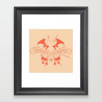 Asteroids! Framed Art Print