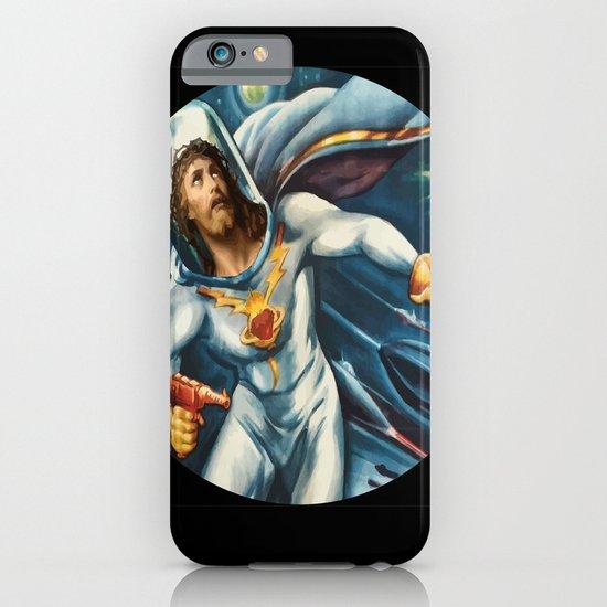 Spaceman Jesus iPhone & iPod Case