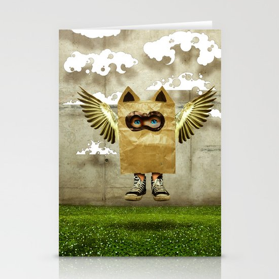 Fly try Stationery Card