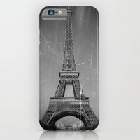 iPhone & iPod Case featuring Vintage Eiffel Tower by Christine Workman