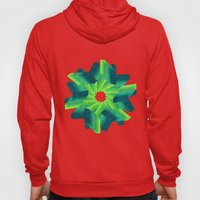 Geometric Flower Hoody