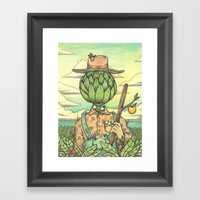 The Hallowed Land Of The… Framed Art Print