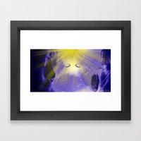 Spirit Visage Framed Art Print