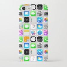 Phone Apps (Flat design) Slim Case iPhone 7