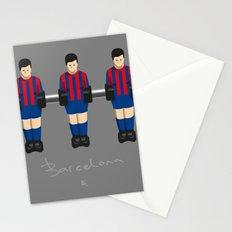 table football - Barcelona Stationery Cards