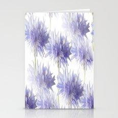 Pale Blue Cornflowers Stationery Cards