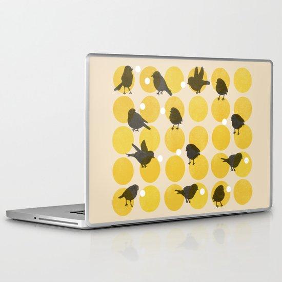 Birdsong Yellow Laptop & iPad Skin