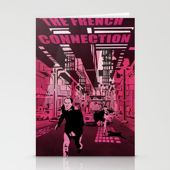The French connection vector Stationery Card