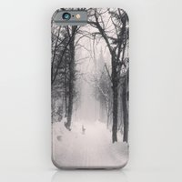 iPhone & iPod Case featuring Wolf by Olivier P.