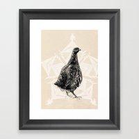 Christmas Partridge Framed Art Print