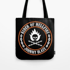 Rider of Hellfire Tote Bag