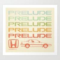 Prelude 88' Art Print