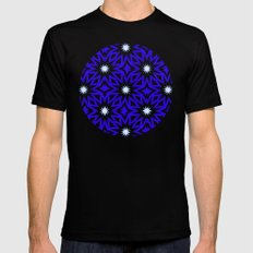Starry Night Mens Fitted Tee SMALL Black