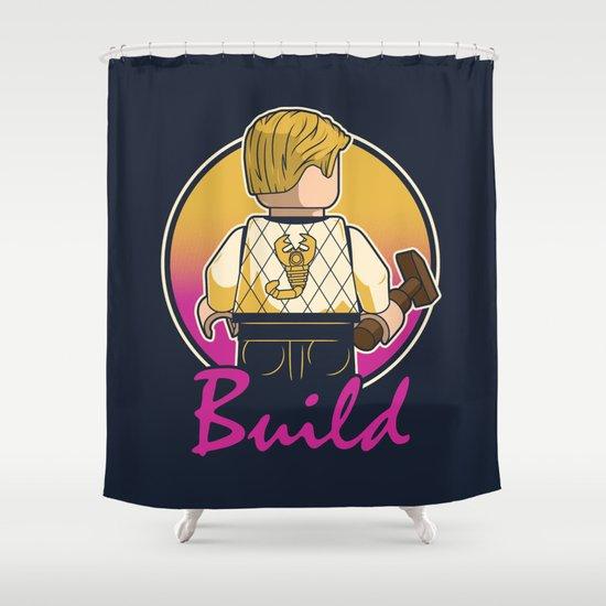A Real Mini Hero Shower Curtain