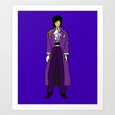 Prince - Purple Rain - Violet Art Print
