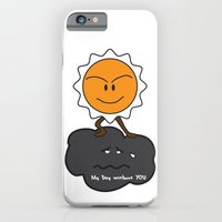 iPhone & iPod Case featuring my day without you by konlux