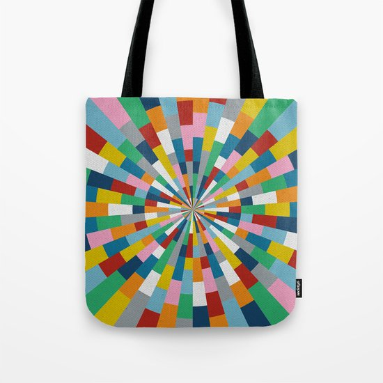Tick Tock Brick Tote Bag