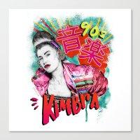Kimbra 90s Music Canvas Print