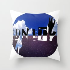 ◉UⁿIty◎ (2013) Throw Pillow