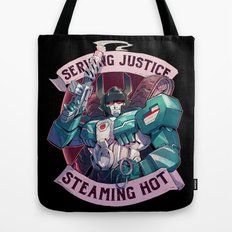 Maximum Justice Tote Bag