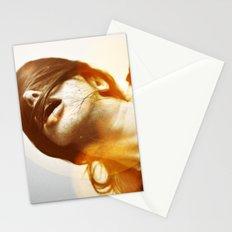 la femme phoenix Stationery Cards
