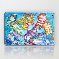 Happy Cats Laptop & iPad Skin