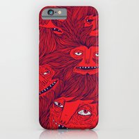 iPhone & iPod Case featuring Hairwolves by Joe Van Wetering