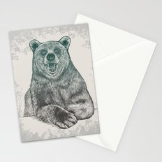 Bear Portrait Stationery Cards