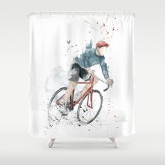 I want to ride my bicycle Shower Curtain