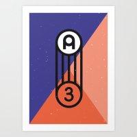 A3 Poster Art Print