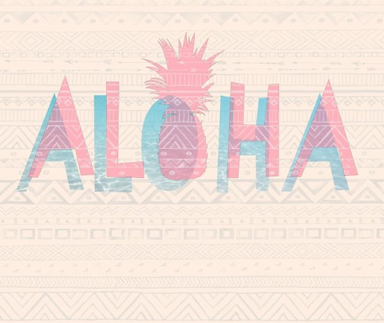 Vintage Aloha  Art Print
