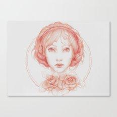 Simple Portrait Canvas Print