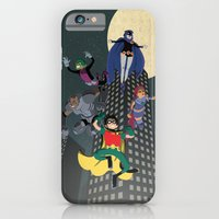 iPhone Cases featuring Teen Titans by Fuacka