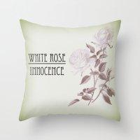 Innocence Throw Pillow