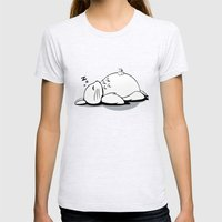 I Love Totoro 2.0  Womens Fitted Tee Ash Grey SMALL