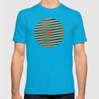 Into The Woods Mens Fitted Tee Teal SMALL