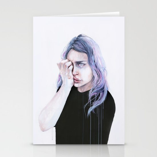 I could but I can't Stationery Card